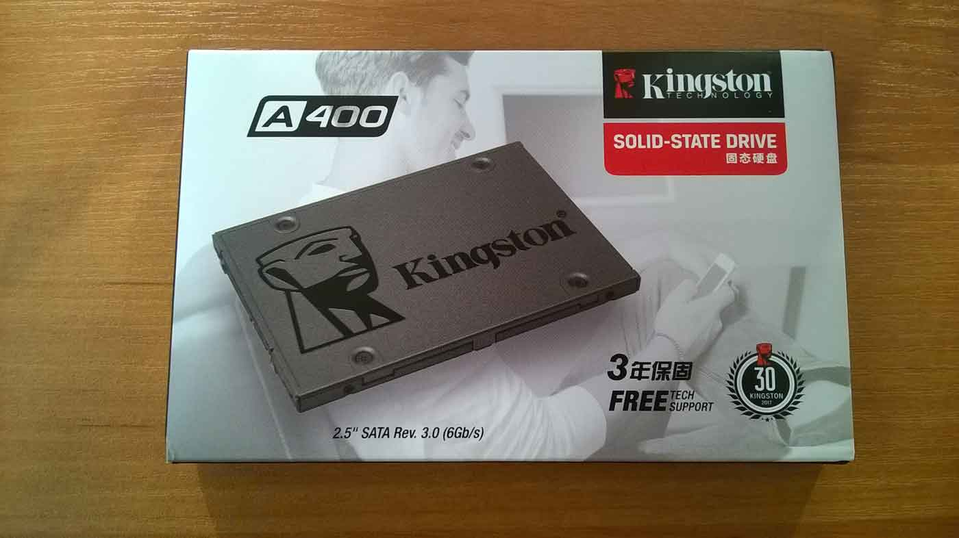 Коробка Kingston A400